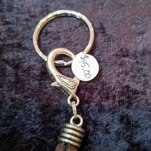 Artisan Accessories - Genuine Leather Loop Keychains NWT